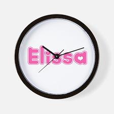 """Elissa"" Wall Clock"