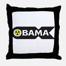 Nuclear Obama Throw Pillow