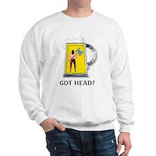 Got head? Jumper