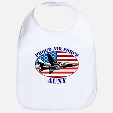 Proud Air Force Aunt Bib