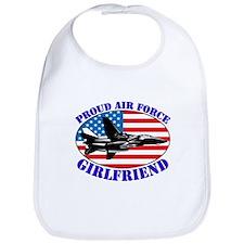 Cool Military girlfriend Bib