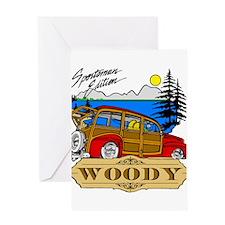 Woody Sportsman Edition Greeting Card