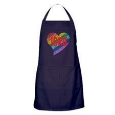 Order of the Rainbow for Girl Apron (dark)
