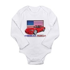 American Muscle Viper Long Sleeve Infant Bodysuit