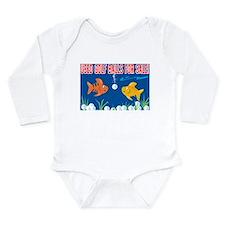 Unique Advertisement Long Sleeve Infant Bodysuit