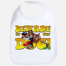 Beware Of The Dog! Bib