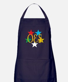 OES Circle of Stars Apron (dark)
