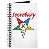 Eastern star secretary Journals & Spiral Notebooks