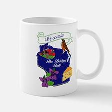 Wisconsin state Small Small Mug