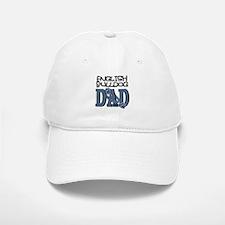 English Bulldog DAD Baseball Baseball Cap