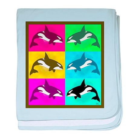 Killer Whale Infant Blanket