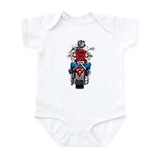 Biker Chick Infant Bodysuit