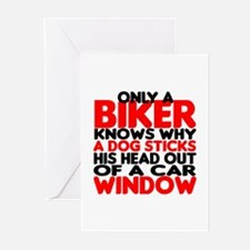 Only a Biker Greeting Cards (Pk of 20)