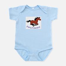 Pony Power Infant Bodysuit
