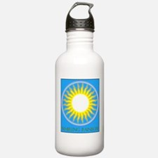 Whirling Rainbow Water Bottle