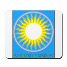 Whirling Rainbow Mousepad
