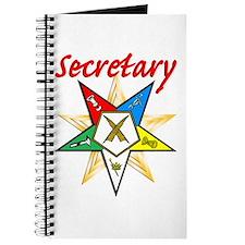 Eastern Star Secretary Items Journal