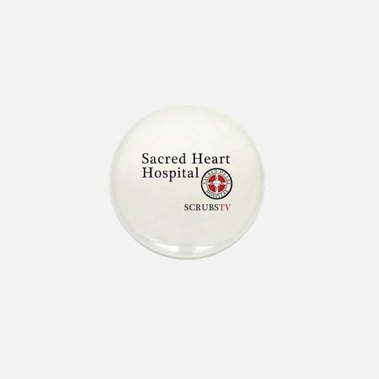 Sacred Heart ScrubsTV Mini Button