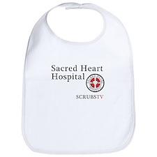 Sacred Heart ScrubsTV Bib