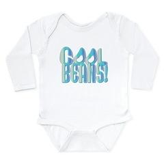 Cool Beans Long Sleeve Infant Bodysuit