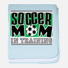 Soccer Mom In Training Infant Blanket