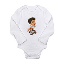 Can Of Whoop Ass Long Sleeve Infant Bodysuit