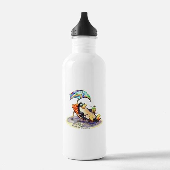 tRoPiCaL pEnGuIn Water Bottle