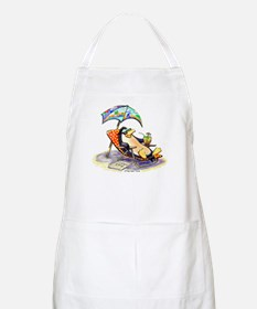 tRoPiCaL pEnGuIn Apron