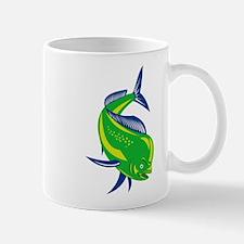 Dorado Dolphin Fish Mug