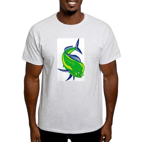 Dorado Dolphin Fish Light T-Shirt