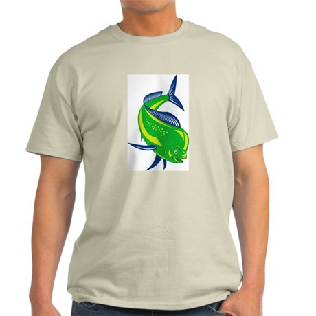 Dorado Dolphin Fish Light T-Shirt