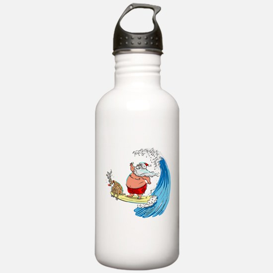 SaNtA aNd RuDoLf Water Bottle