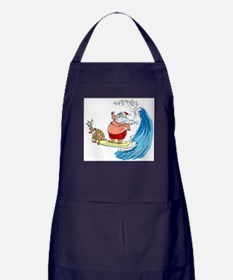SaNtA aNd RuDoLf Apron (dark)