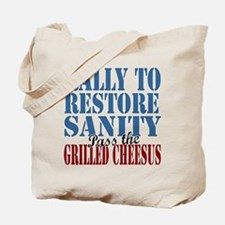 Grilled Cheesus Tote Bag