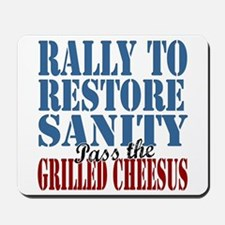 Grilled Cheesus Mousepad