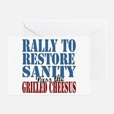 Grilled Cheesus Greeting Card