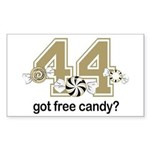 Got Free Candy Sticker (Rectangle)