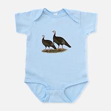 Eastern Wild Turkeys Infant Bodysuit