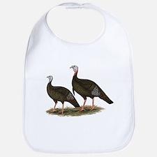 Eastern Wild Turkeys Bib