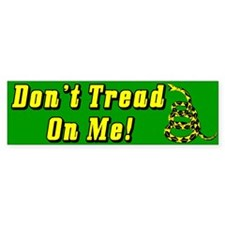 """Don't Tread On Me!"" Bumper Sticker"