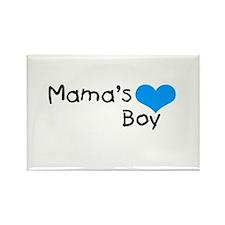 Mama's Boy Rectangle Magnet