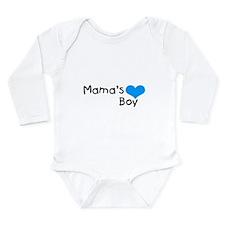 Mama's Boy Long Sleeve Infant Bodysuit