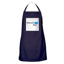 Mama's Boy Apron (dark)