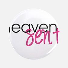 "Heaven Sent 3.5"" Button (100 pack)"