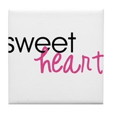 Sweetheart Tile Coaster