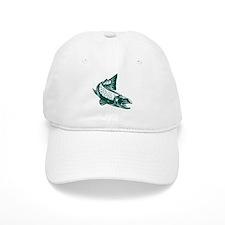 trout fish jumping Baseball Cap