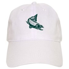 trout fish jumping Hat