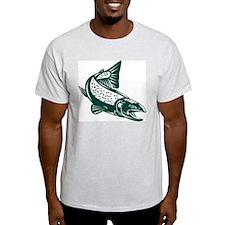 trout fish jumping T-Shirt