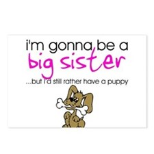 Gonna be a big sister (puppy) Postcards (Package o