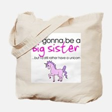 Cute Soon to be big sister Tote Bag